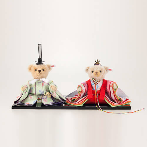 かわいすぎる♡シュタイフ社の限定テディベア雛人形
