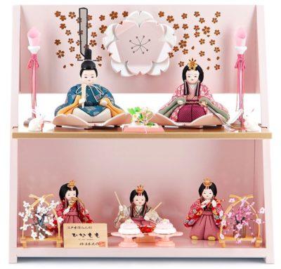 柿沼東光作の雛人形、ひなももシリーズ