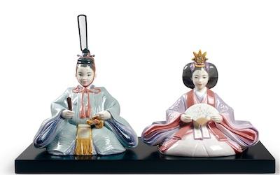 リヤドロの雛人形・春雛