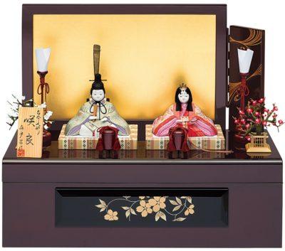 マンション住まいの方におすすめ、人気の収納飾り雛人形