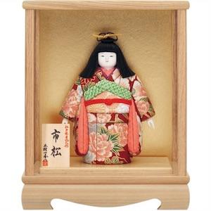 かわいい市松人形・木村一秀作