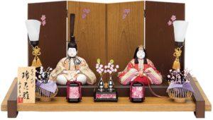 人気のおしゃれな真多呂人形の雛人形