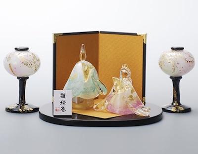 ガラスの雛人形がおしゃれで美しい!飾りたくなる、おすすめのガラスのお雛様