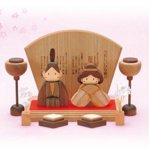 木製ひな人形 ササキ工芸