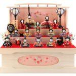 木村一秀作のかわいすぎる十人飾り&十五人飾りの雛人形