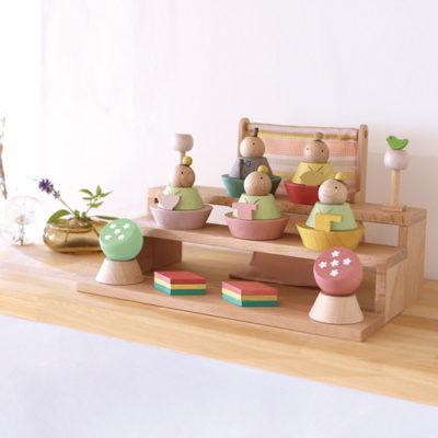 木製ひな人形はコレが欲しい!おしゃれでかわいい木製ひな人形