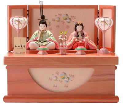 柿沼東光作の雛人形、ひなももシリーズがかわいい♡入れ目の江戸木目込み雛人形