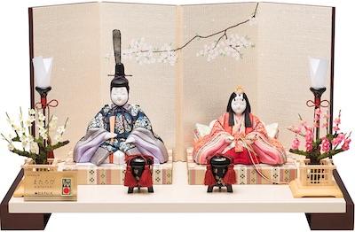 真多呂人形、木目込み、親王飾り 薫