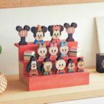 ディズニー、KIDEA、木の木製雛人形、