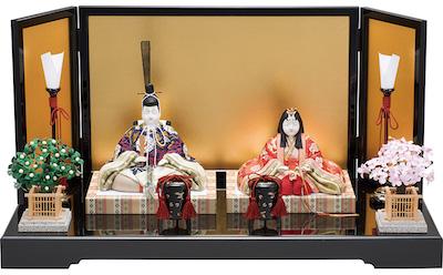 真多呂人形、手作りキット、雛人形キット『春宝雛(親王飾り)』