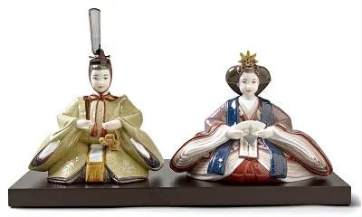 リヤドロの雛人形が人気!おしゃれな陶器の雛人形