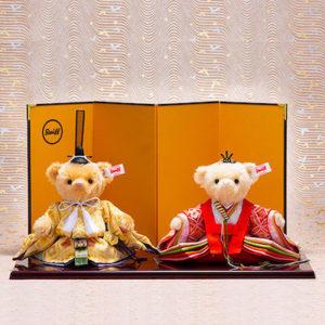 シュタイフのテディベアの雛人形が人気!かわいすぎる、シュタイフ社の日本限定・おすすめテディベアひな人形